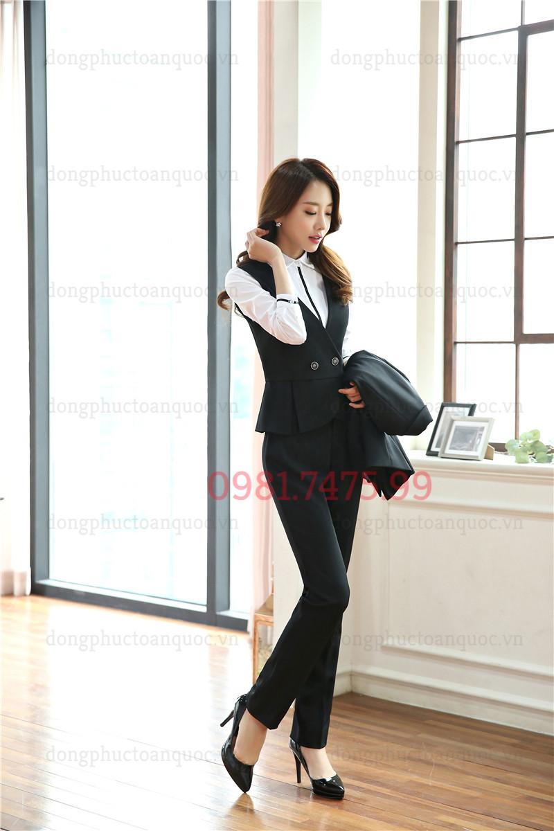 Mẫu đồng phục áo gile nữ đẹp và sang chảnh nhất của Thu Đông năm nay 88%20(1)