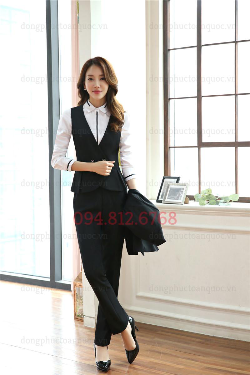 Mẫu đồng phục áo gile nữ đẹp và sang chảnh nhất của Thu Đông năm nay 88%20(5)