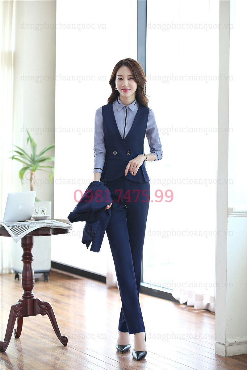 Mẫu đồng phục áo gile nữ đẹp và sang chảnh nhất của Thu Đông năm nay 88%20(6)