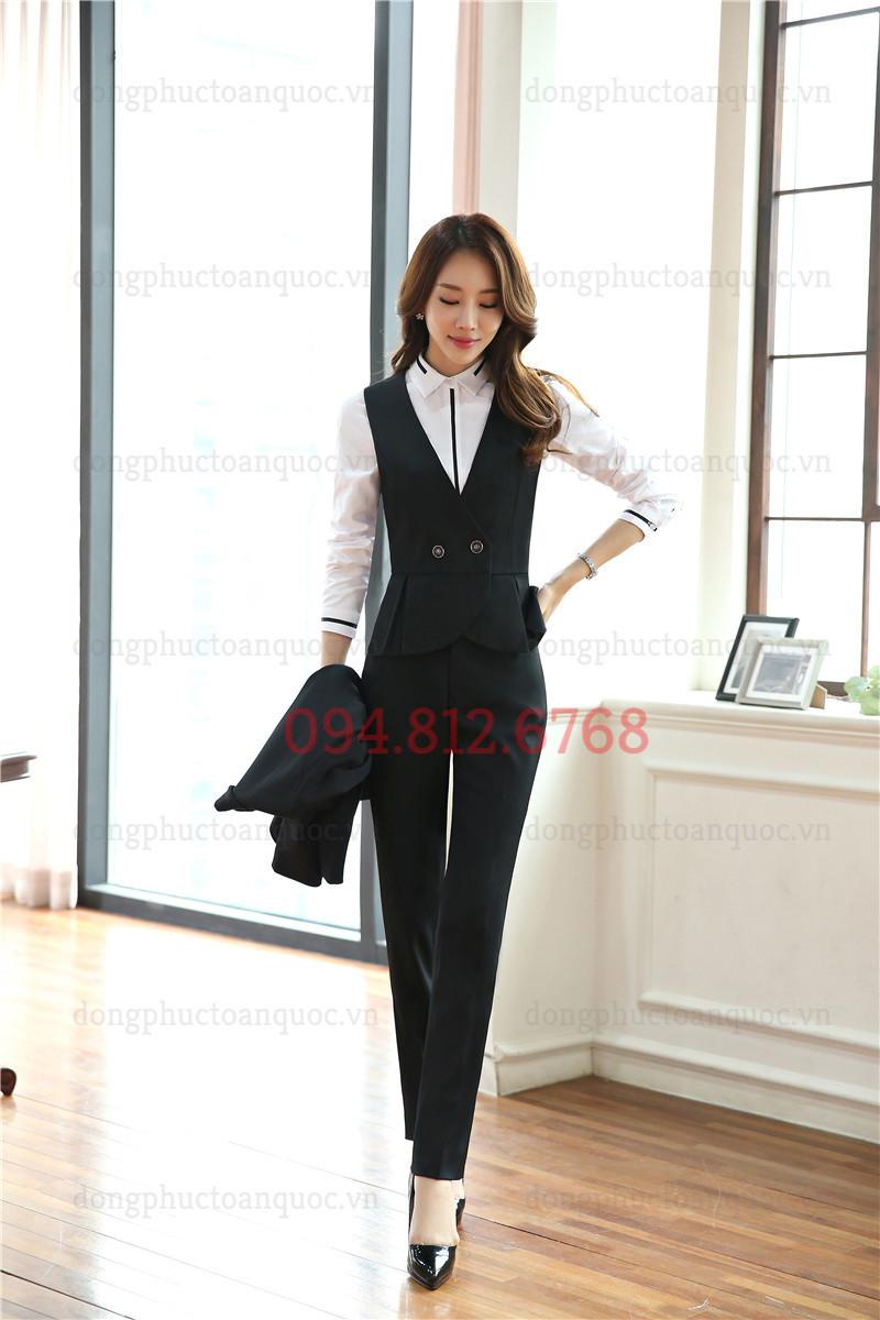 Mẫu đồng phục áo gile nữ đẹp và sang chảnh nhất của Thu Đông năm nay 88%20(7)