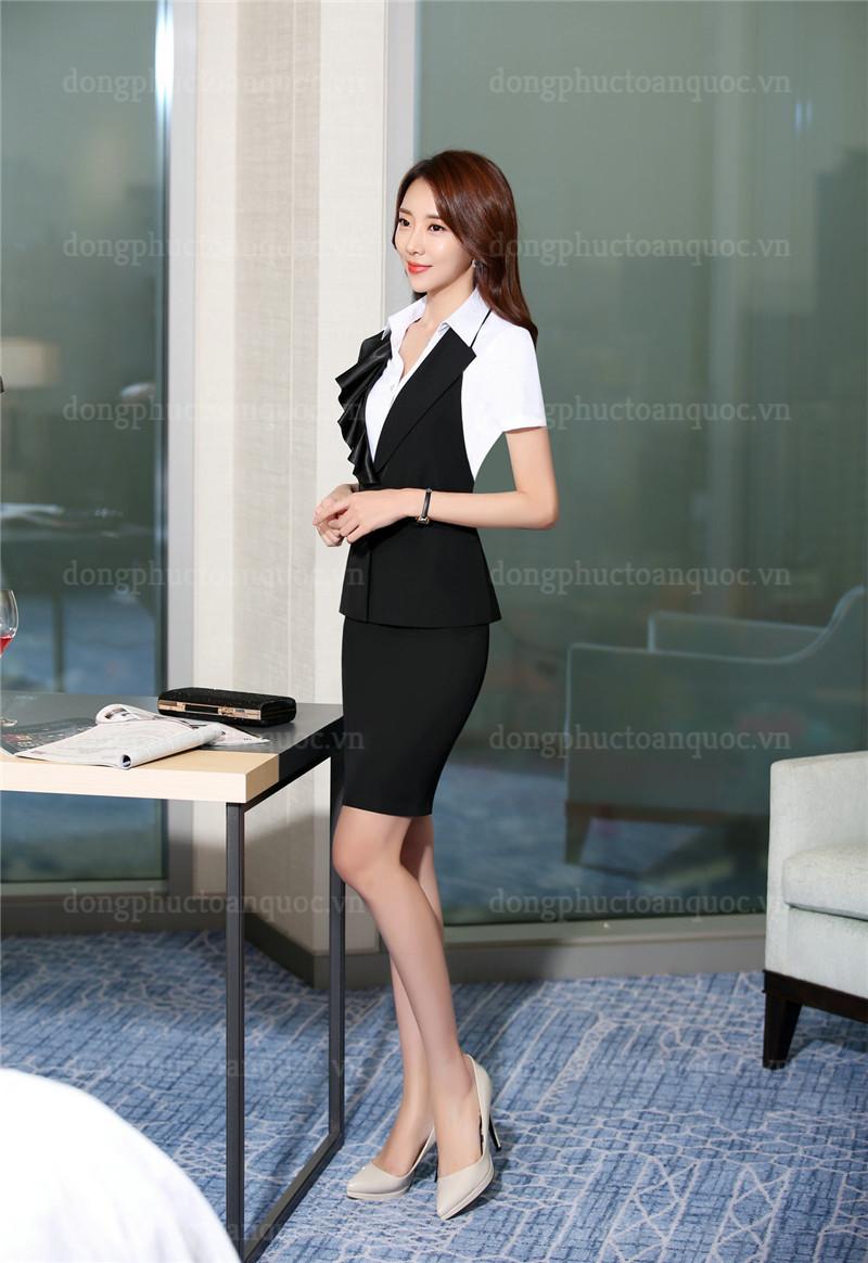 Mẫu đồng phục áo gile nữ thiết kế sang trọng đẳng cấp cho Quý cô công sở 90%20(10)