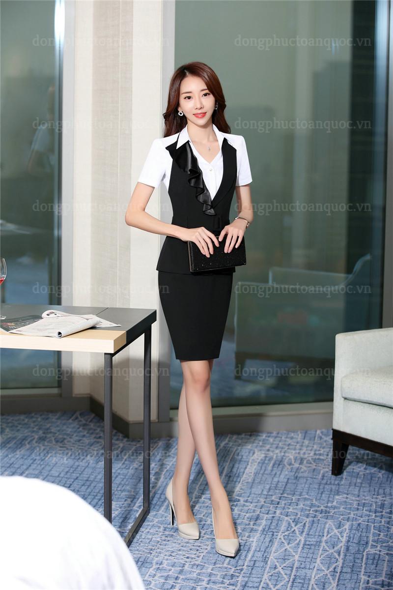 Mẫu đồng phục áo gile nữ thiết kế sang trọng đẳng cấp cho Quý cô công sở 90%20(3)