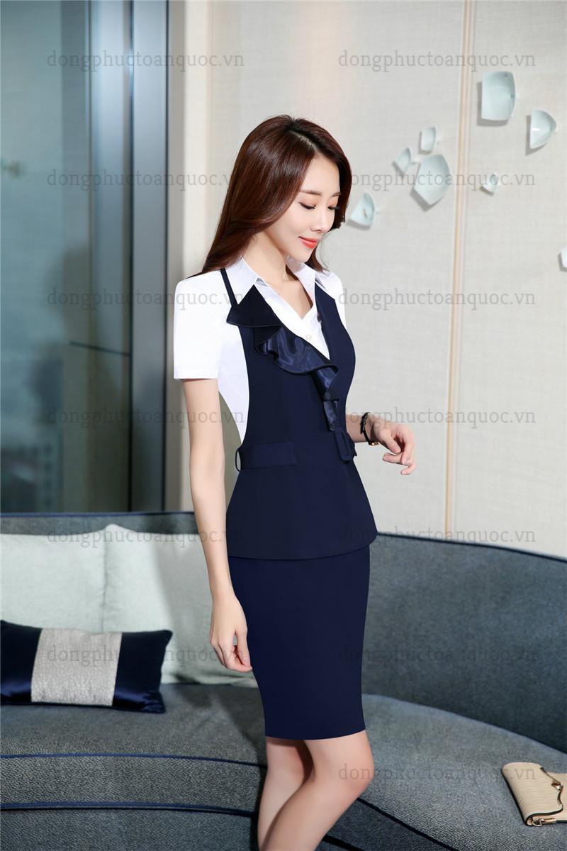 Mẫu đồng phục áo gile nữ thiết kế sang trọng đẳng cấp cho Quý cô công sở 90%20(4)