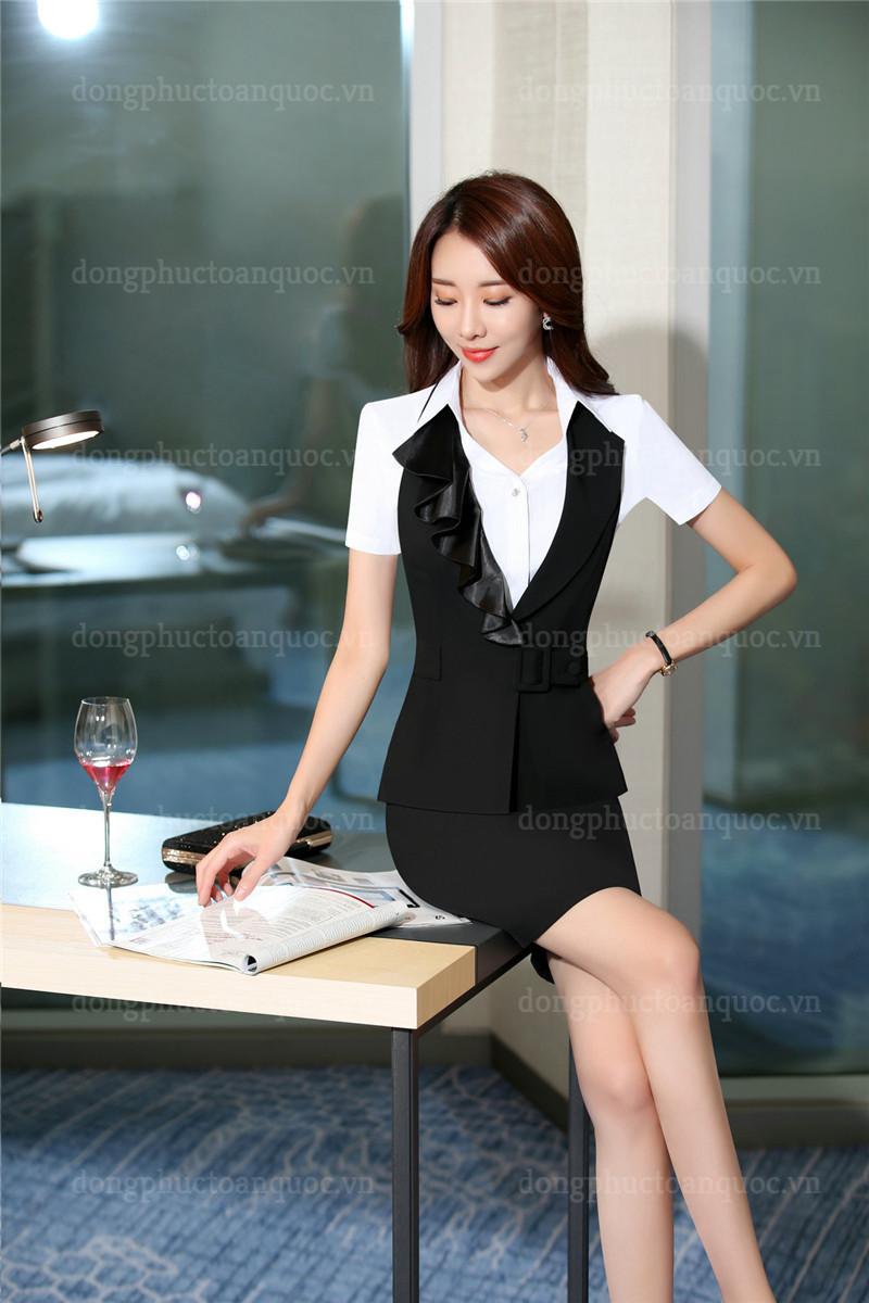 Mẫu đồng phục áo gile nữ thiết kế sang trọng đẳng cấp cho Quý cô công sở 90%20(5)