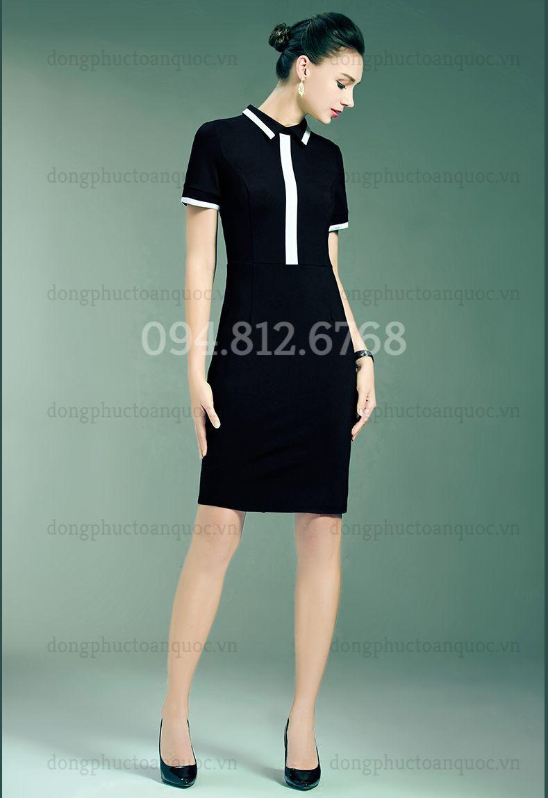 Mẫu váy liền đồng phục  giá bình dân, giúp nàng văn phòng đẹp mọi nơi  20%20(2)