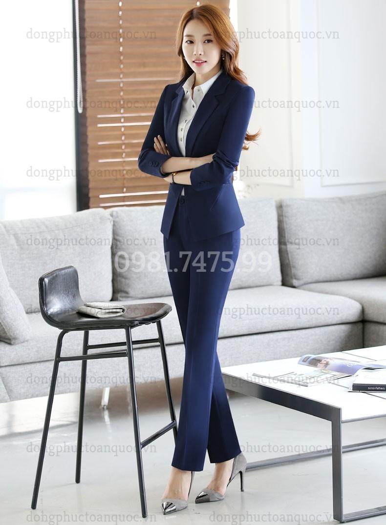 Mẫu đồng phục áo vest nữ cao cấp, khẳng định đẳng cấp của Doanh nghiệp  7%20(1)