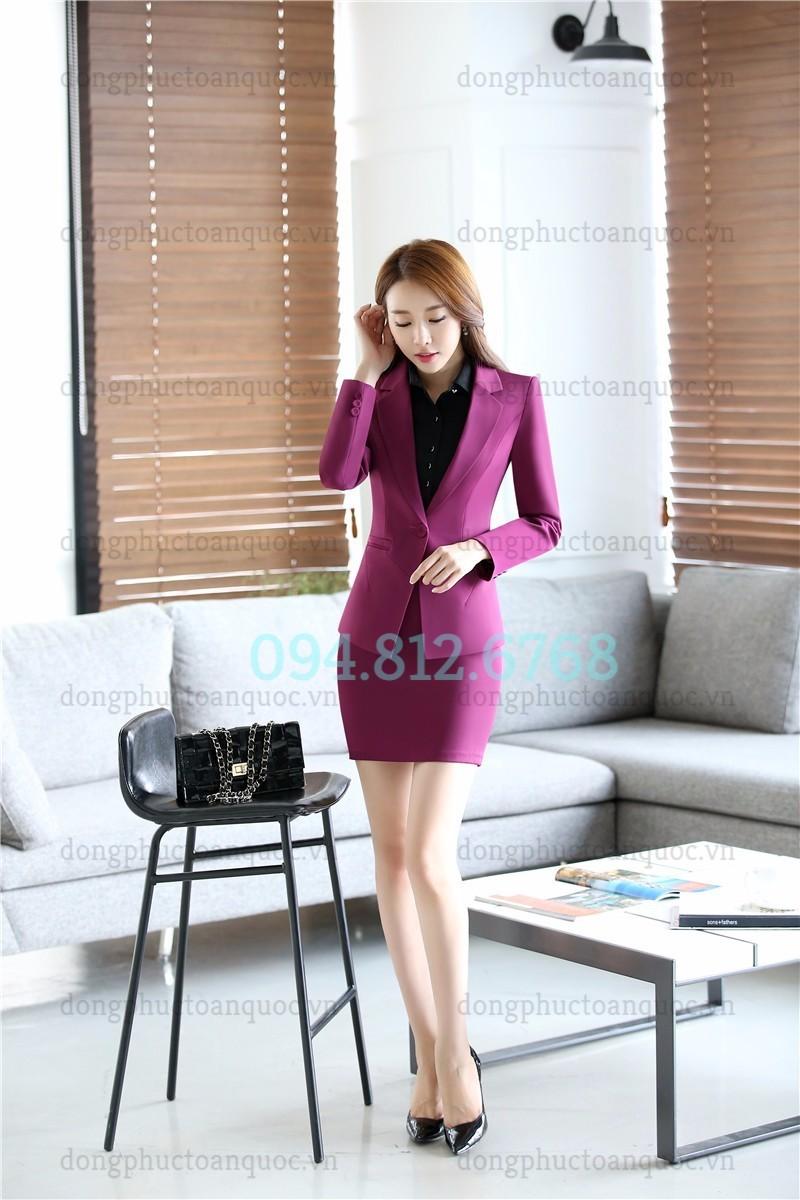 Mẫu đồng phục áo vest nữ cao cấp, khẳng định đẳng cấp của Doanh nghiệp  7%20(4)