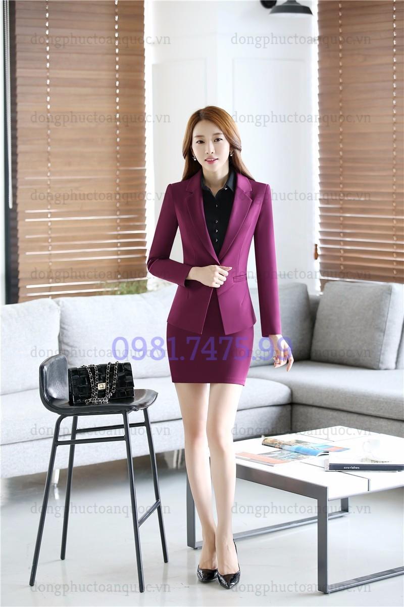 Mẫu đồng phục áo vest nữ cao cấp, khẳng định đẳng cấp của Doanh nghiệp  7%20(7)