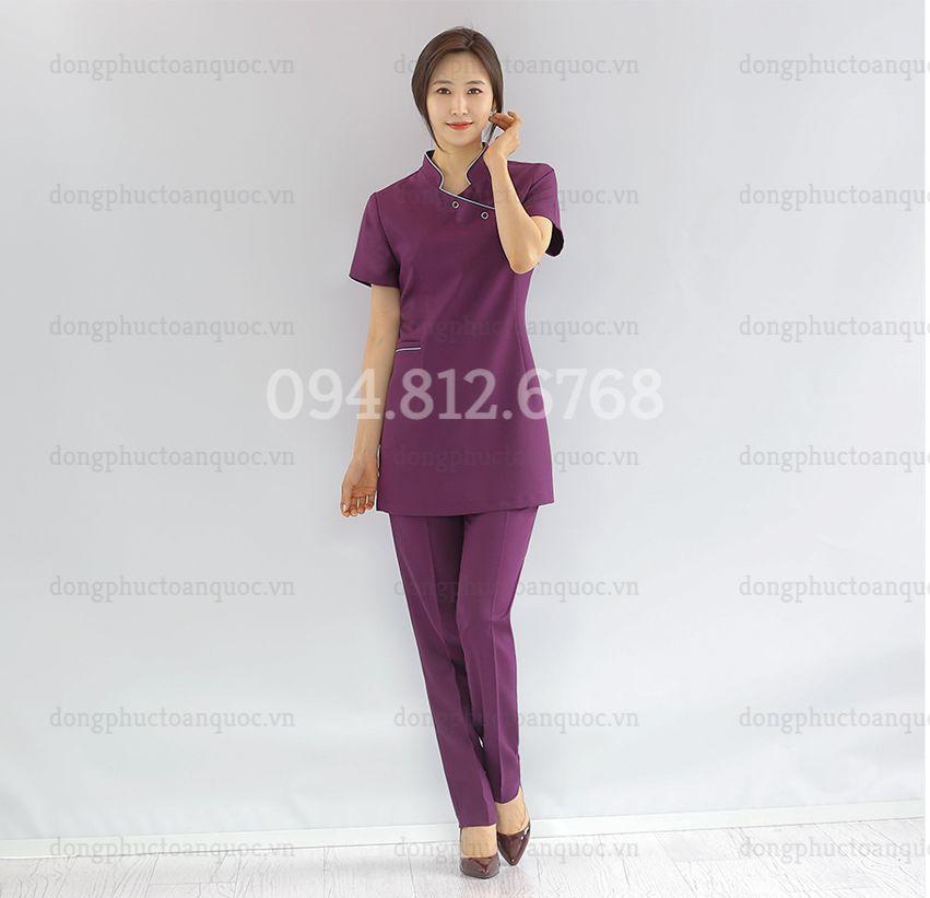 Mẫu đồng phục massage  thời trang, phù hợp với mọi vóc dáng, cứ mặc là 29a
