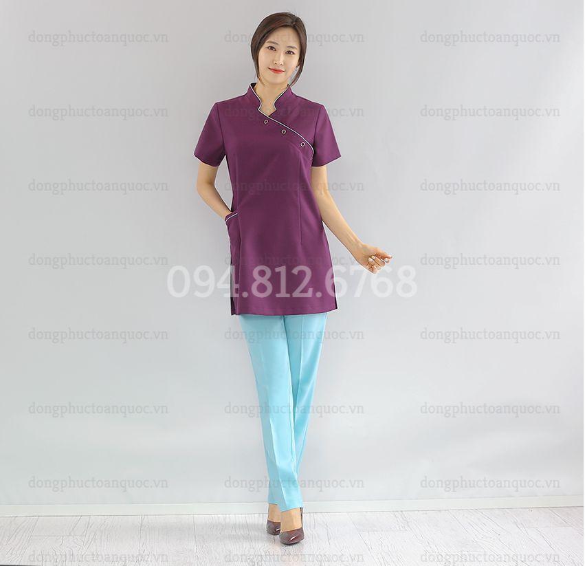 Mẫu đồng phục massage  thời trang, phù hợp với mọi vóc dáng, cứ mặc là 29f