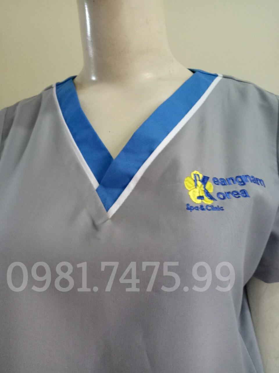 Mẫu đồng phục SPA, massag thiết kế ấn tượng và chuyên nghiệp tại ĐỒNG PHỤC VIỆT  99h