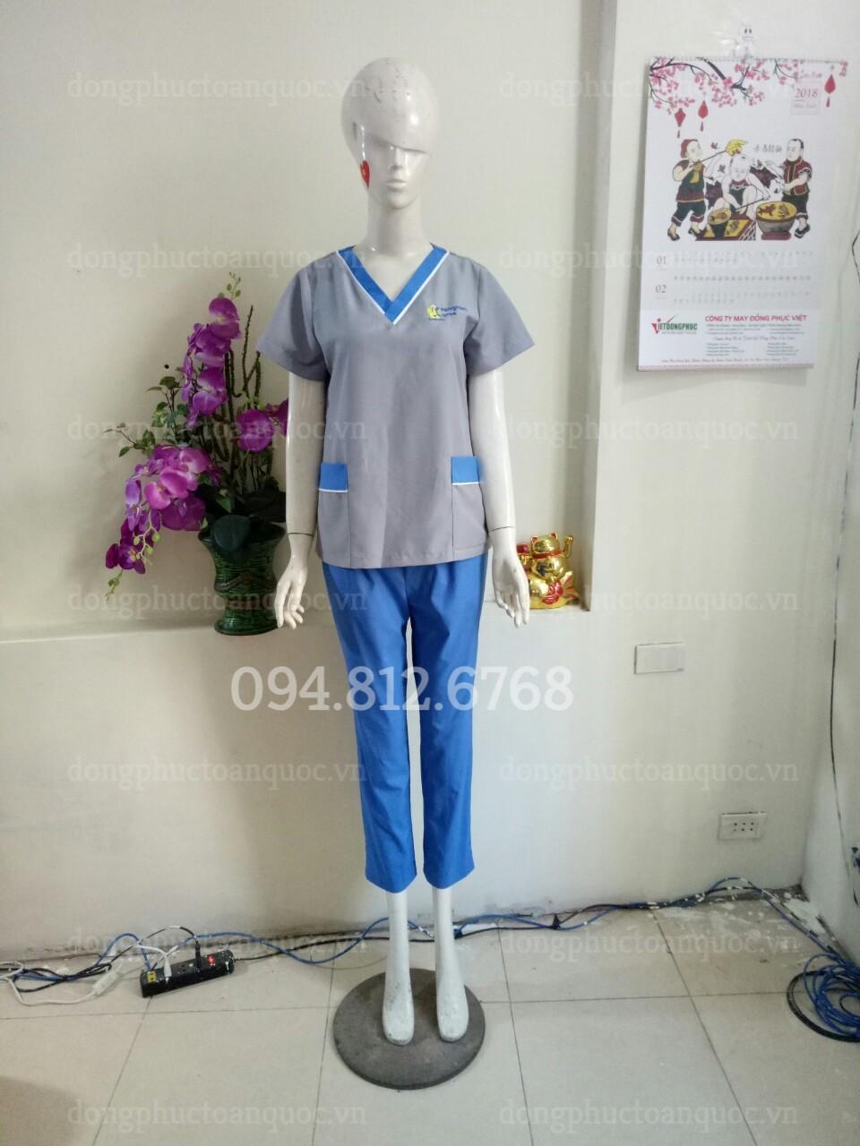 Mẫu đồng phục SPA, massag thiết kế ấn tượng và chuyên nghiệp tại ĐỒNG PHỤC VIỆT  99s