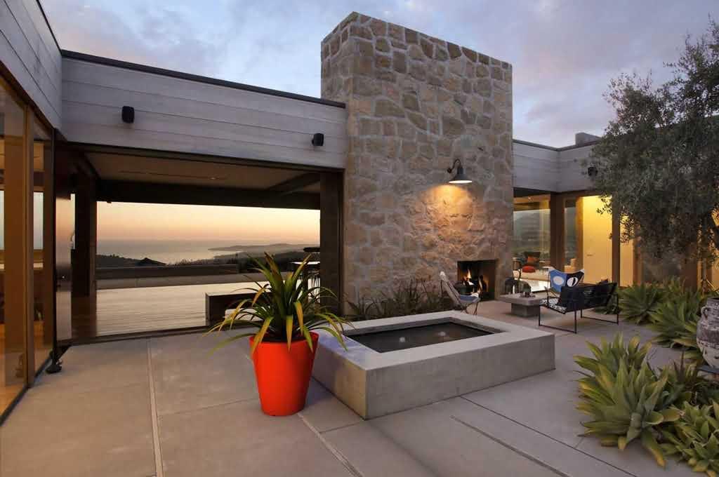 Kreatywne pomysły aranżacji balkonu i tarasu Patio-taras-i-donice-duze-ogrodowe