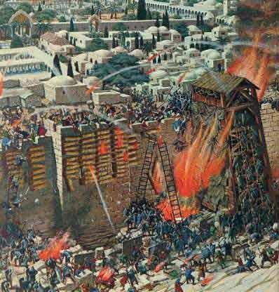 LES ARMÉES DE L' ANTÉ - CHRIST . GOG ET MAGOG  Dv0025-jerusalem1a