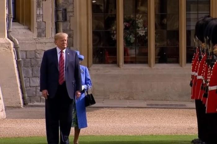 QANON разоблачает Британию- государство актера, вмешающегося в президентские выборы США Trampprenebregetiket