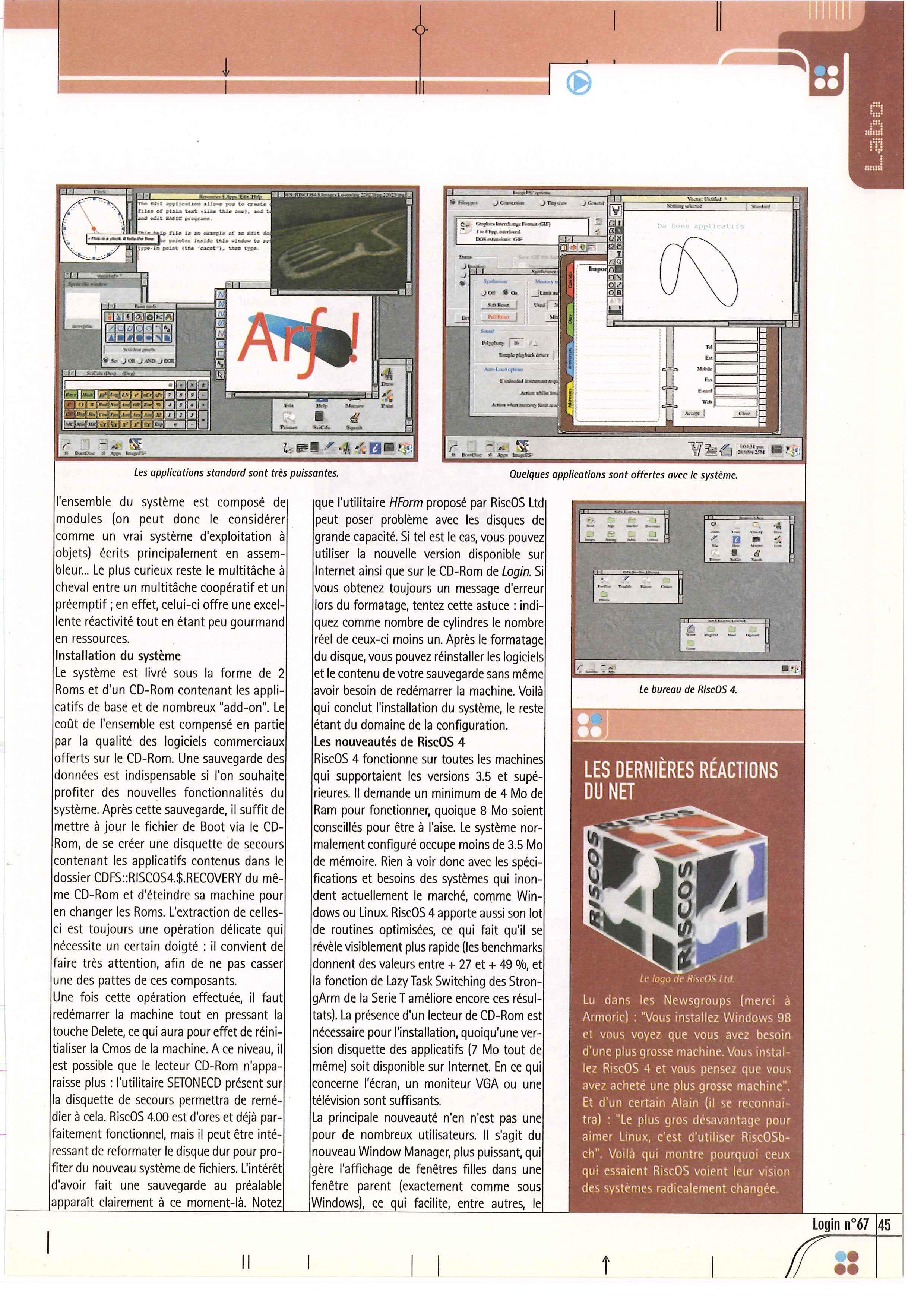 AMIGA vs ARCHIMEDES 3010, FIGHT ! - Page 6 LOGIN_67_0045