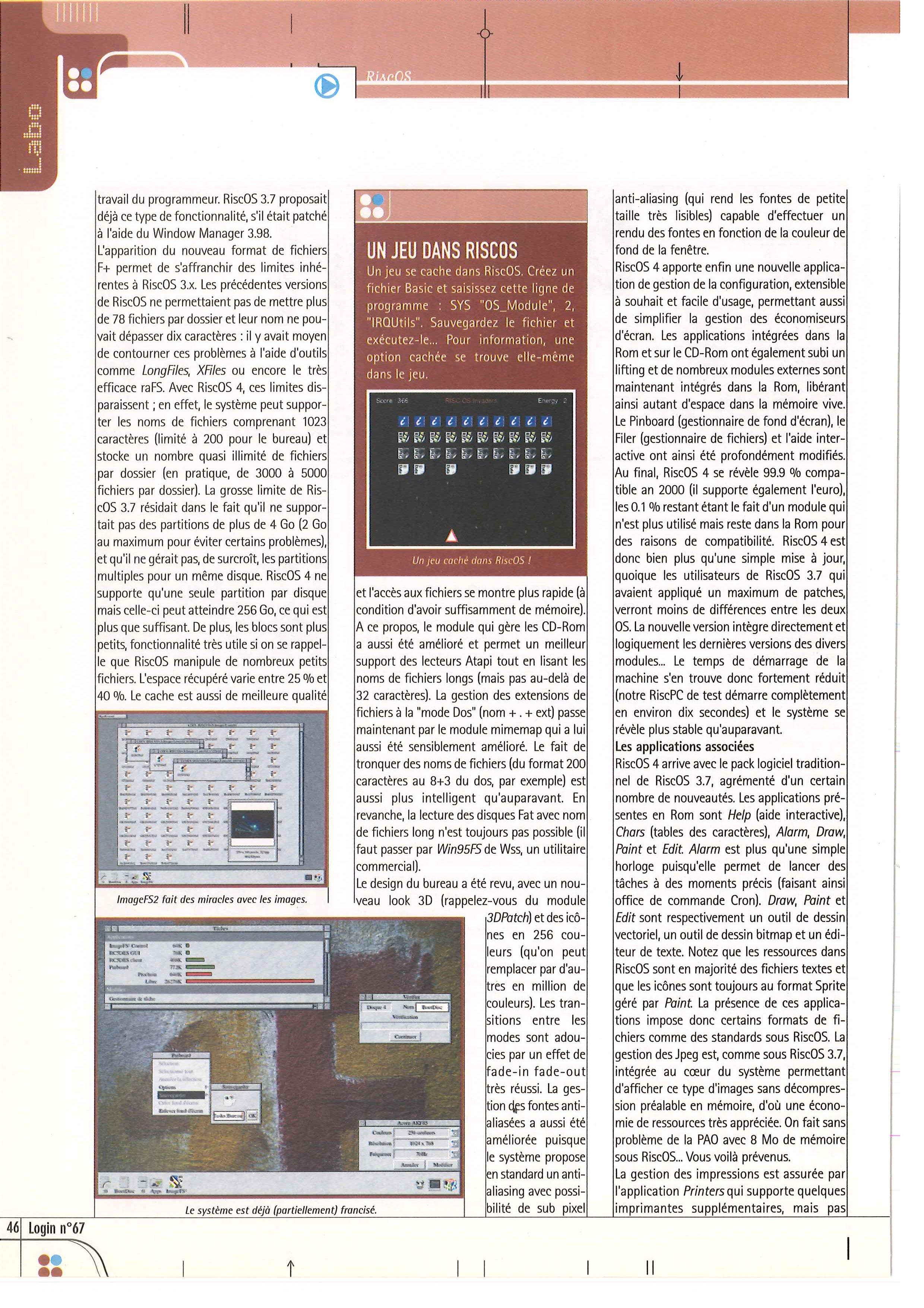 AMIGA vs ARCHIMEDES 3010, FIGHT ! - Page 6 LOGIN_67_0046