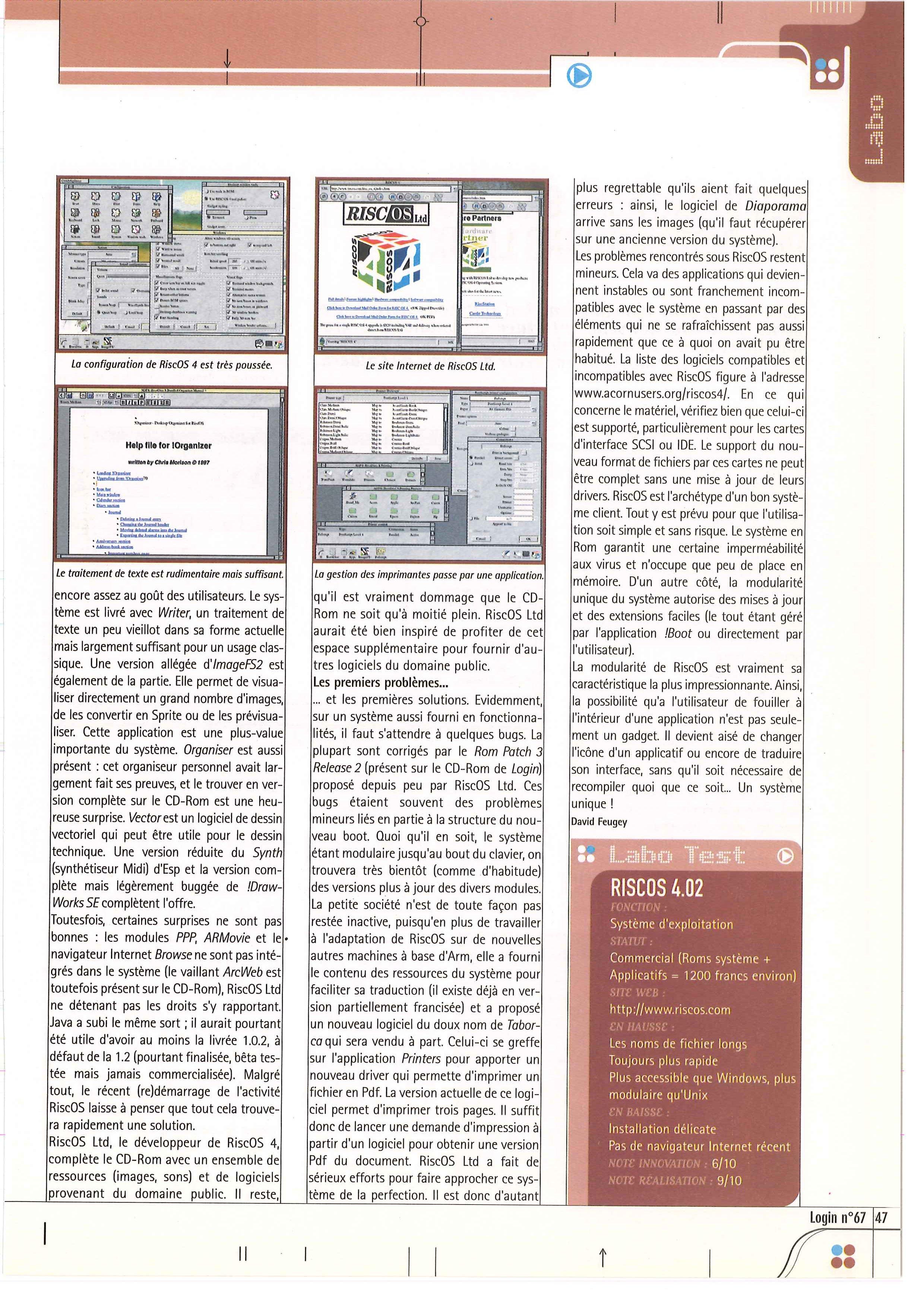 AMIGA vs ARCHIMEDES 3010, FIGHT ! - Page 6 LOGIN_67_0047