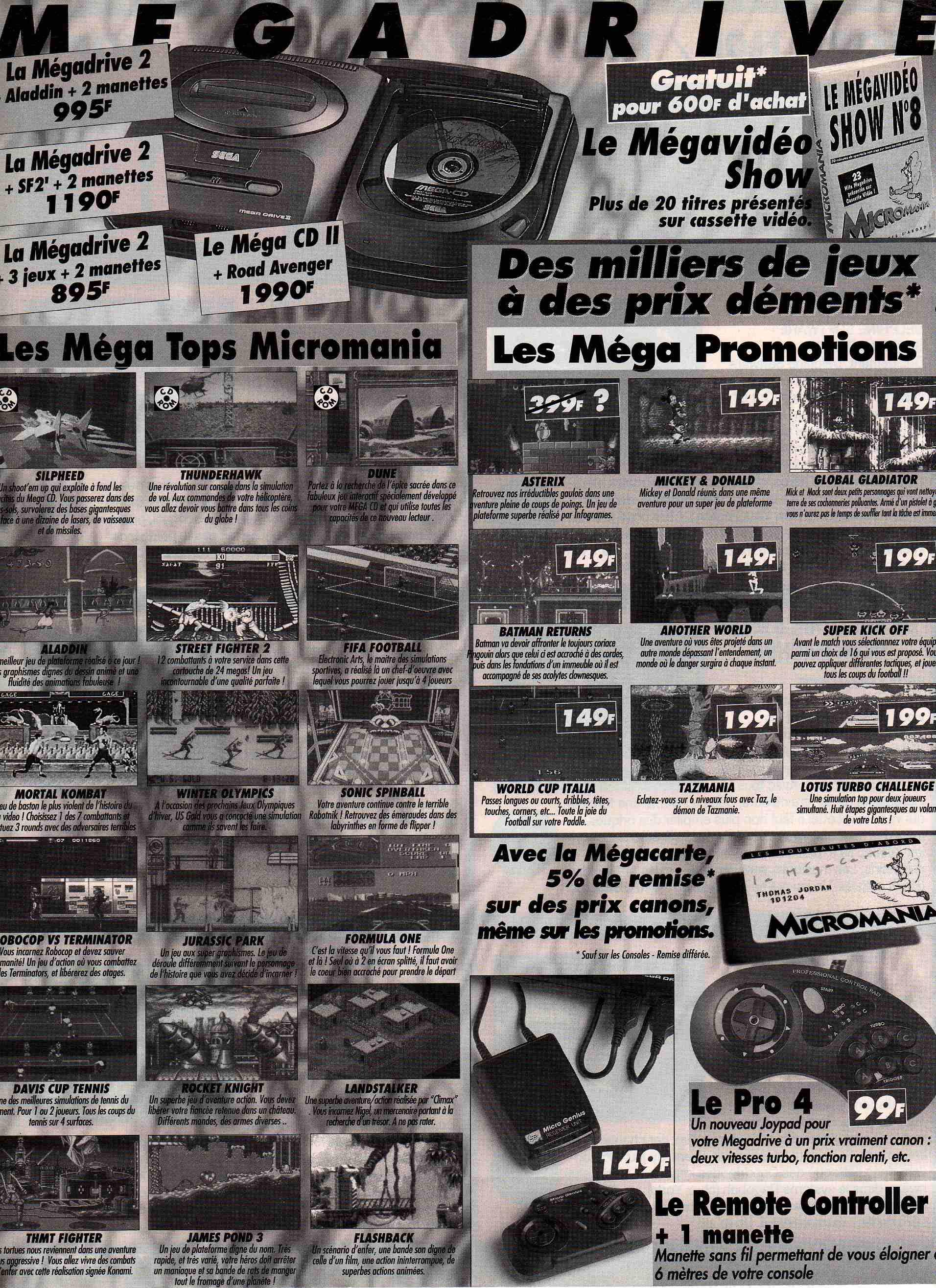 MEGADRIVE vs SUPER NINTENDO : Fight ! CONSOLES%2B%20028%20-%20Page%20008%20%281994-01%29