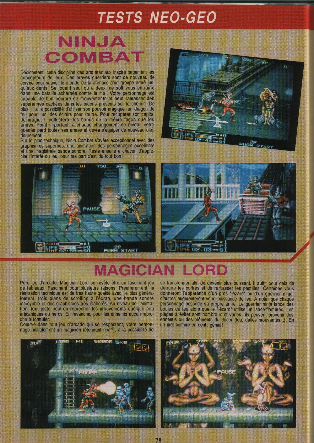 [Dossier] Les jeux NEOGEO dans la presse de l'époque - Page 2 Gen4%20HS2%20-%20page078