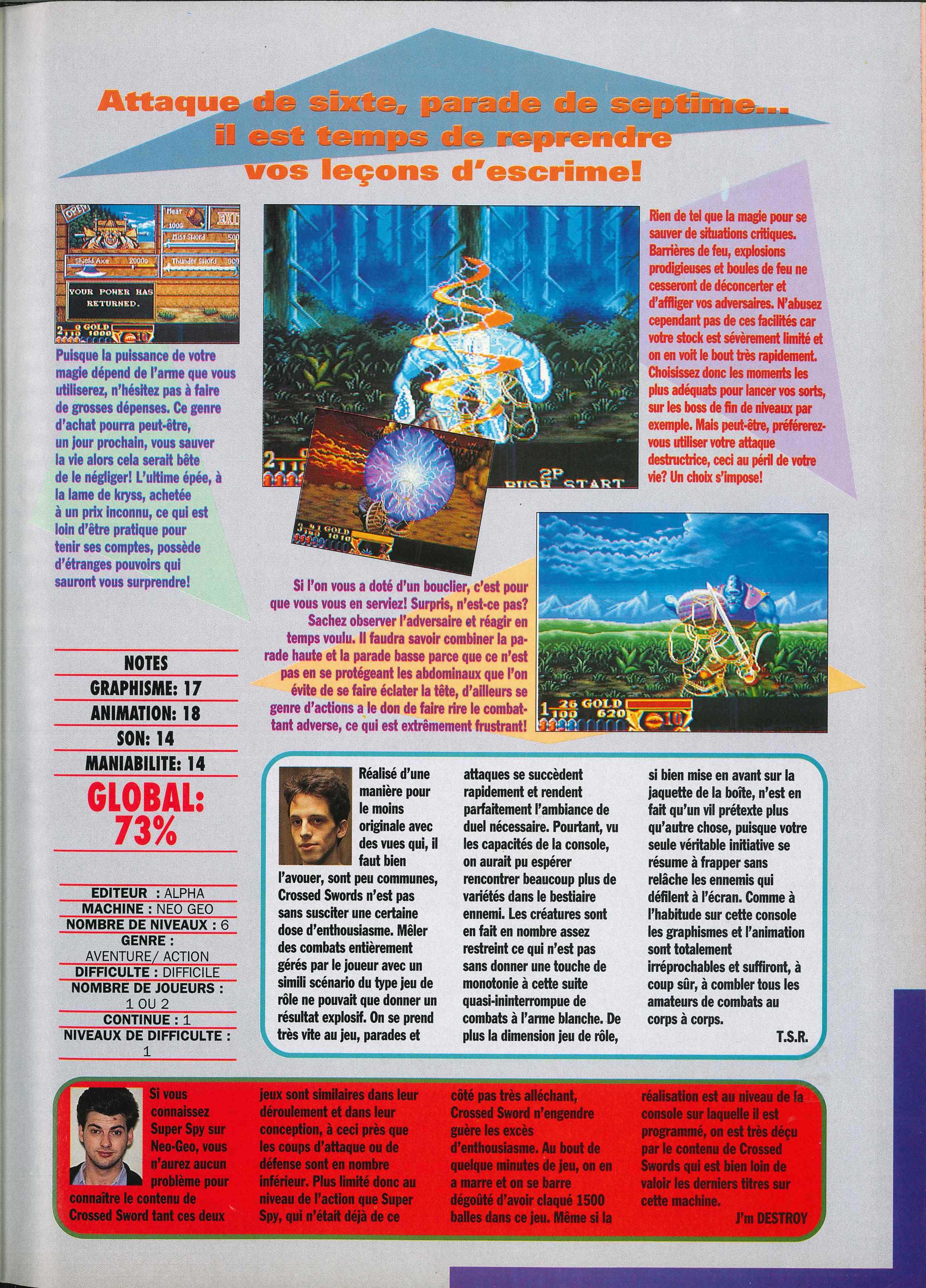 La NEO•GEO dans la presse - Volume II (1991) Joypad%20003%20-%20Page%20125%20%281991-12%29