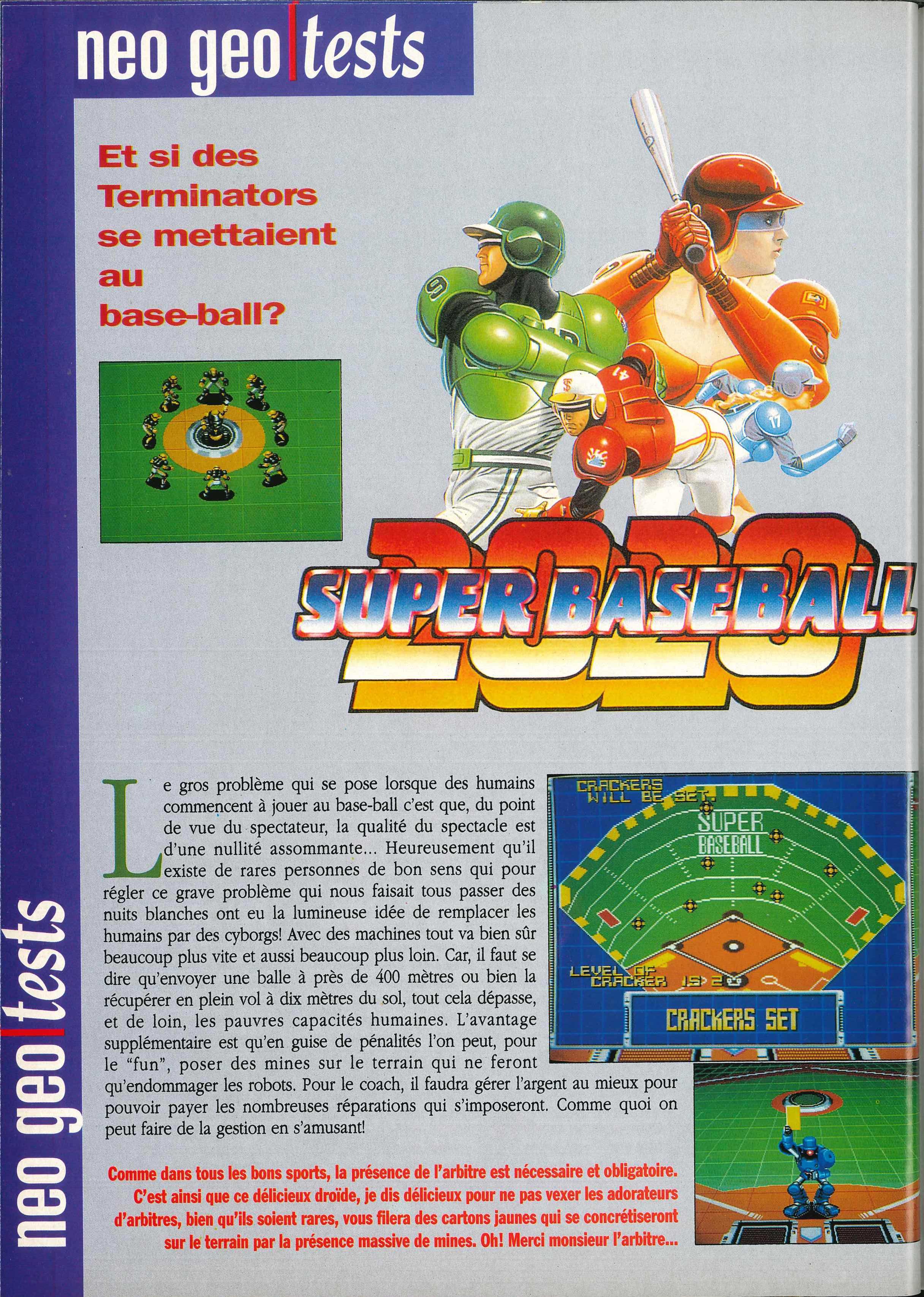 La NEO•GEO dans la presse - Volume II (1991) Joypad%20003%20-%20Page%20126%20%281991-12%29