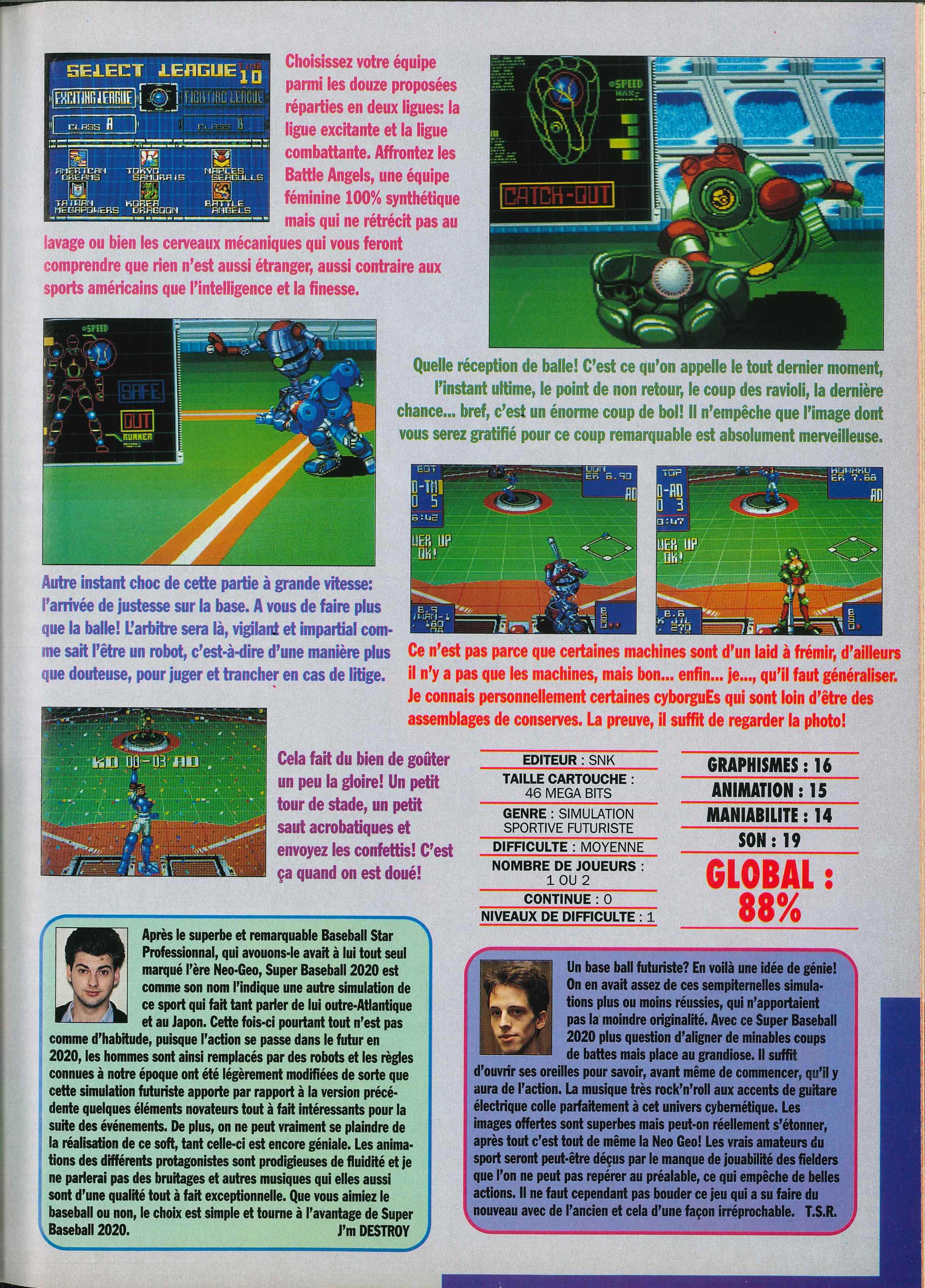 La NEO•GEO dans la presse - Volume II (1991) Joypad%20003%20-%20Page%20127%20%281991-12%29