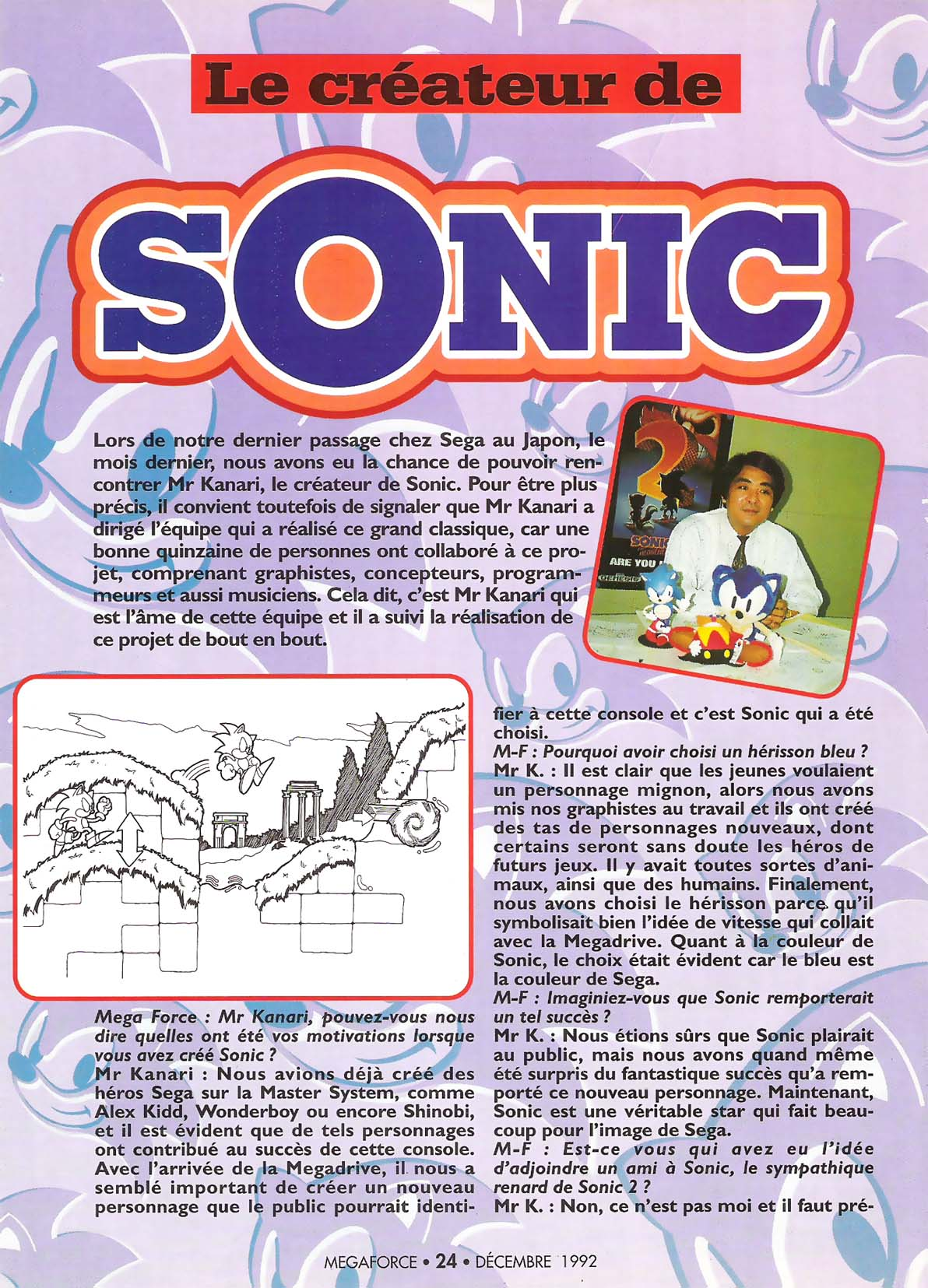 Quel est votre Sonic 2D préféré? - Page 2 MEGAforce%20012%20-%20Page%20024%20%281992-12%29