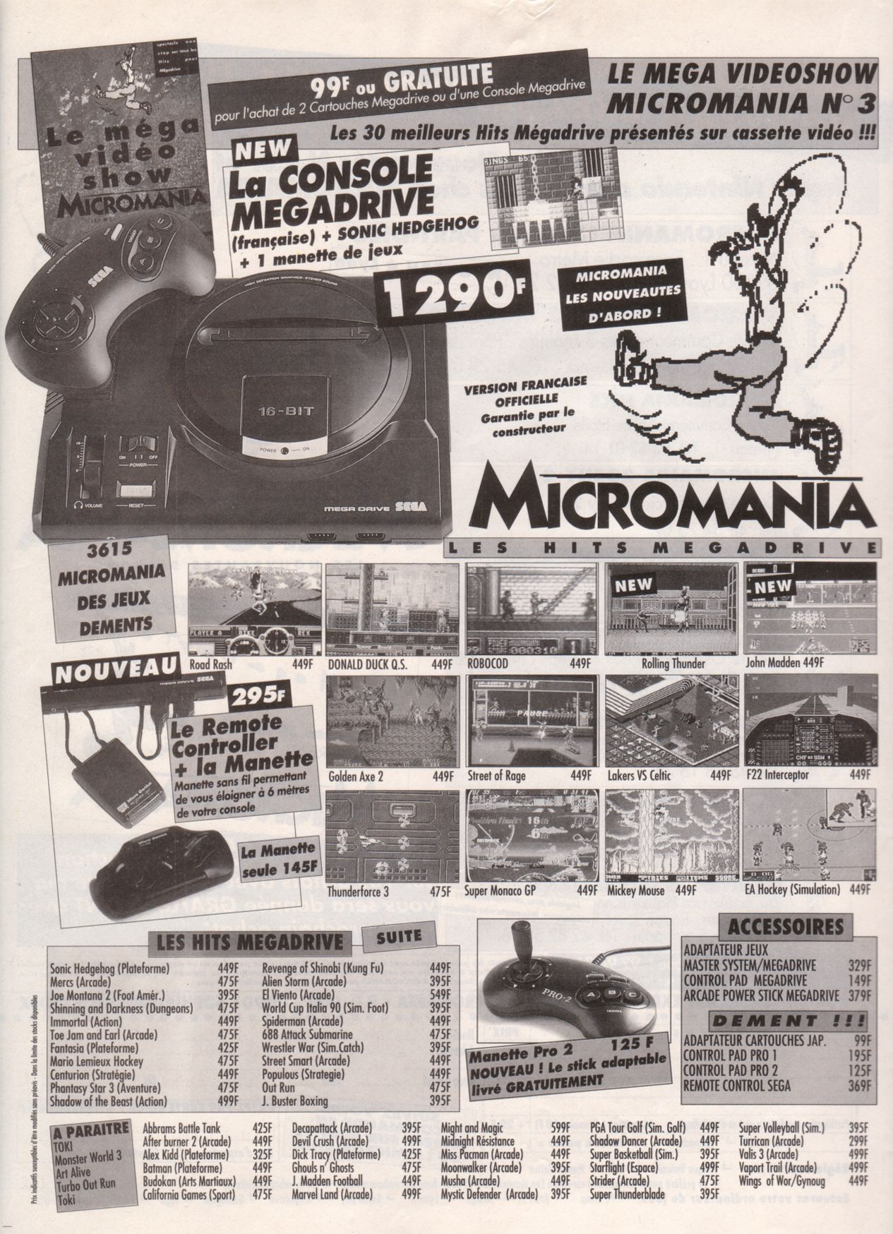 MEGADRIVE vs SUPER NINTENDO : Fight ! - Page 2 Player%20One%20020%20-%20Page%20116%20%281992-05%29