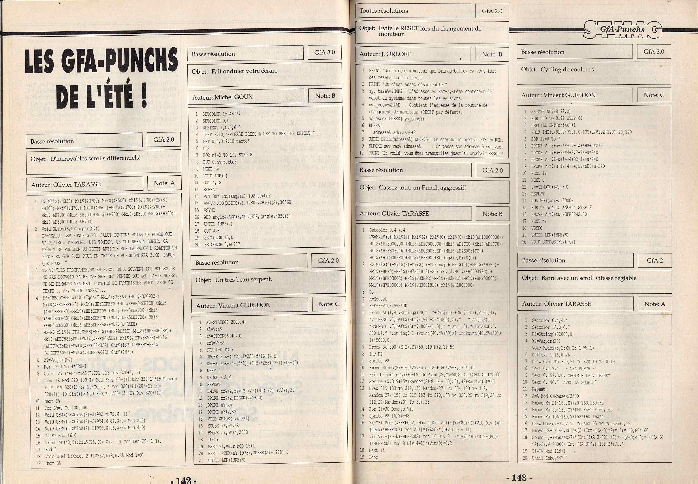 listing dans HEBDOGICIEL, TILT : SOUVENIRS !!! - Page 2 St%20magazine%20-%20N043%20-%20aout%201990%20-%20page142%20et%20143