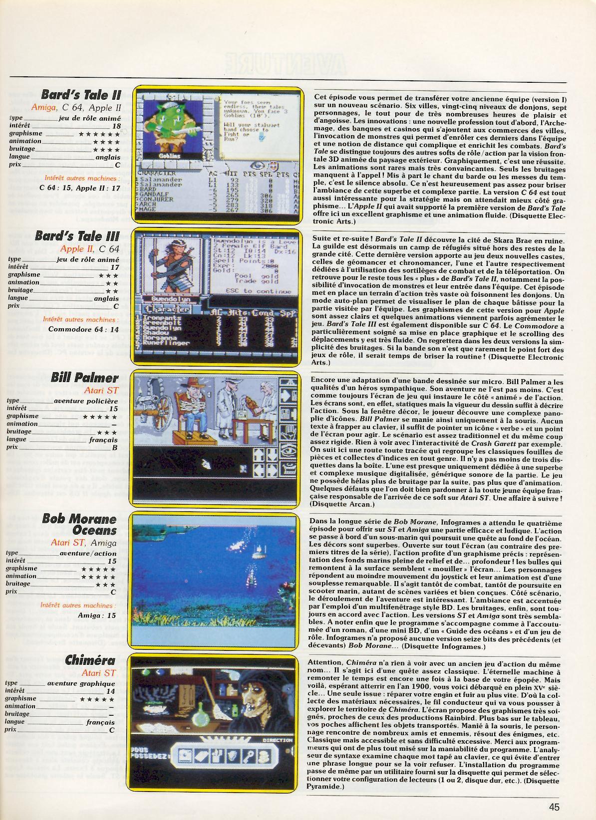 Les jeux de role sur micro 8 bits - Page 2 TILT%20060S%20(Jeux%20et%20Micro%20-%20Guide%201989)%20-%20Page%20045