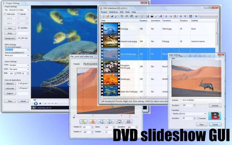 DVD Slideshow GUI 0.9.4.8 GUI