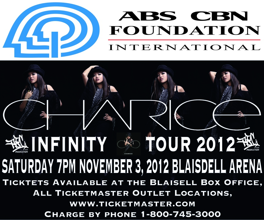 11/03/12 - Charice Infinity Tour 2012 - Neal S Blaisdell Arena, Honolulu, Hawaii PBC_PROD_CHARICE_WARD