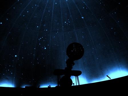 La tête dans les étoiles , chambre 7 Planetarium