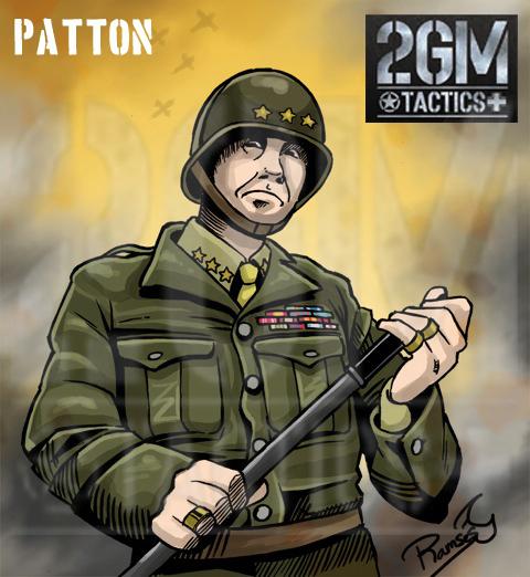 Nuevo juego de mesa 2GM Tactics - ÉXITO en Verkami Patton
