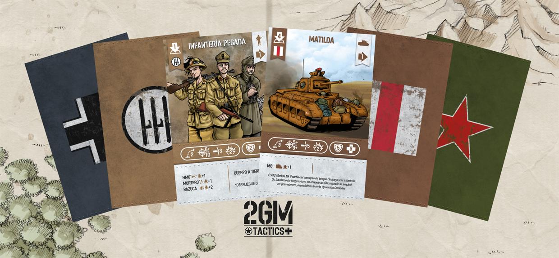 Nuevo juego de mesa 2GM Tactics - ÉXITO en Verkami Presentacion-Expansiones