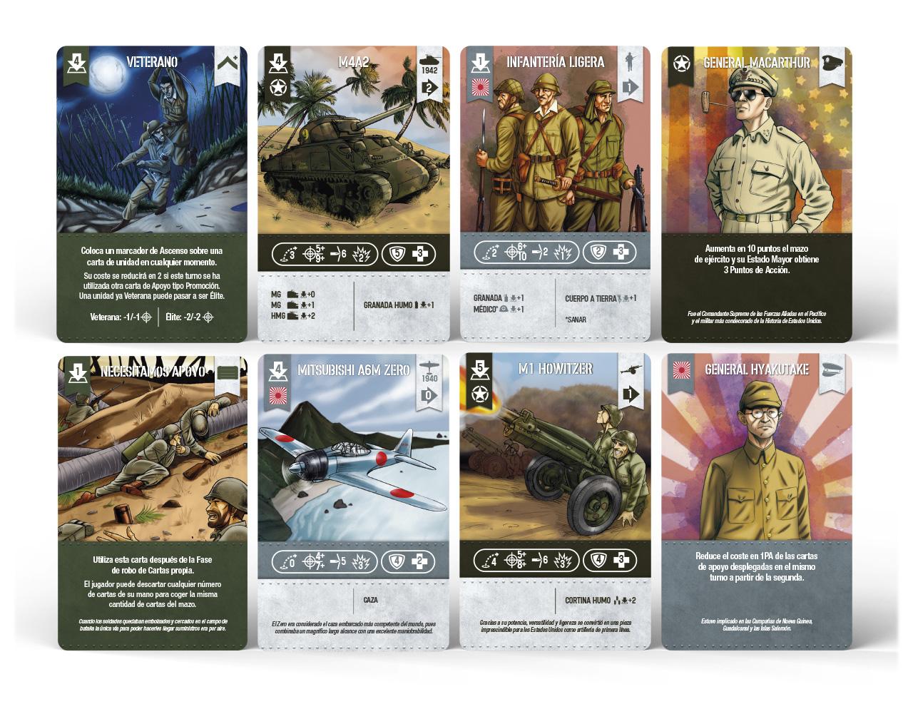 2GM PACIFIC: nueva expansión autojugable Cartas-demo