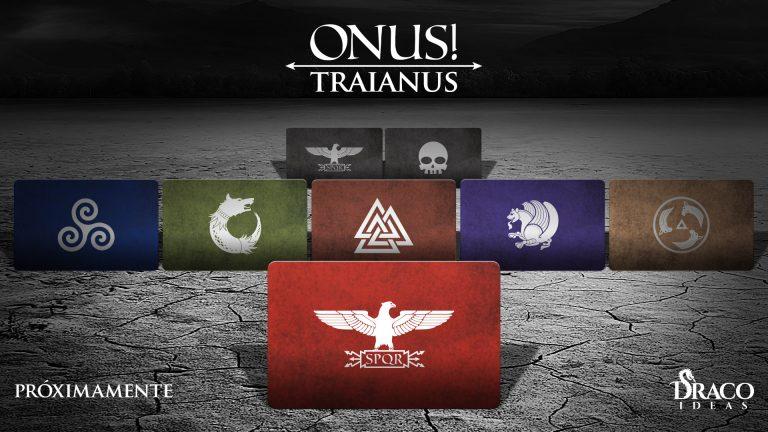 """Juego """"ONUS! Traianus"""" de Draco Ideas Demo-cartas-facciones-768x432"""