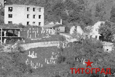 Gradovi starih dobrih vremena  TITOGRAD-Ansichtskarte-Kl