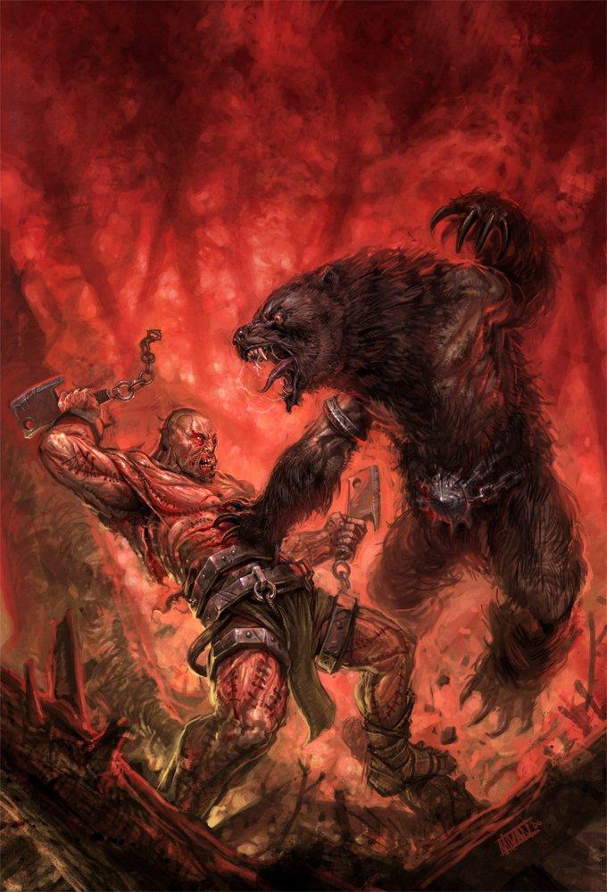 Лесные тропы - Страница 19 1250523962_meatman_vs__warebear_by_perzo