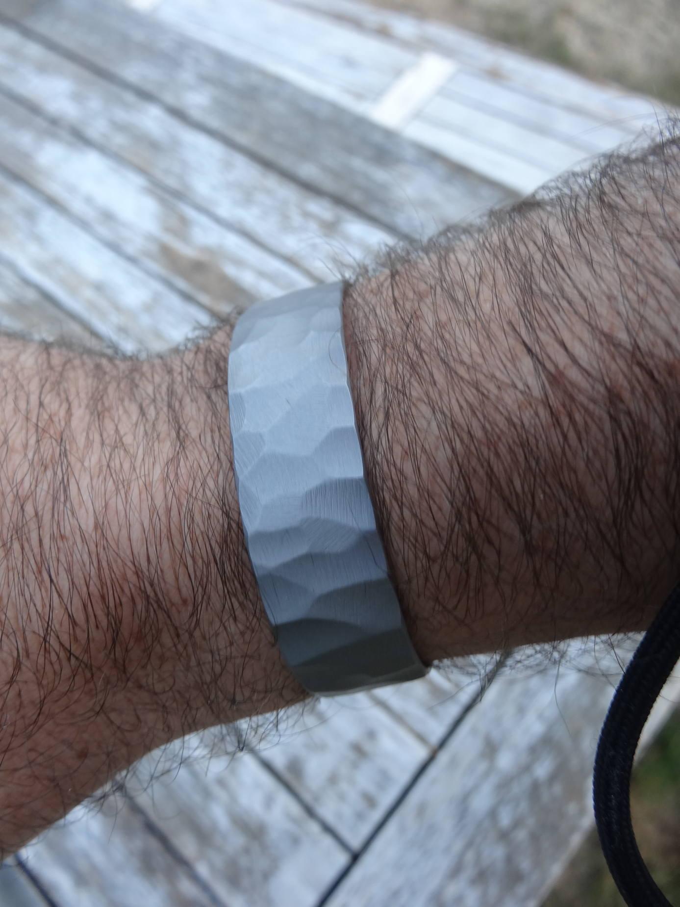 Bracelet titane toxifié DSC00487