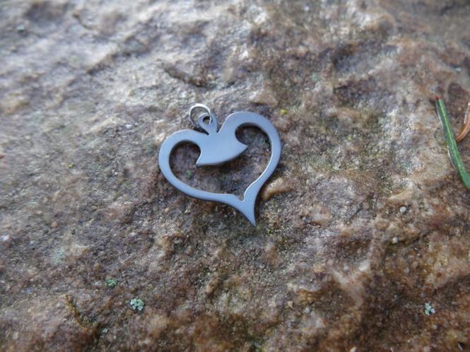 Coeur en titane ajouré DSC02415