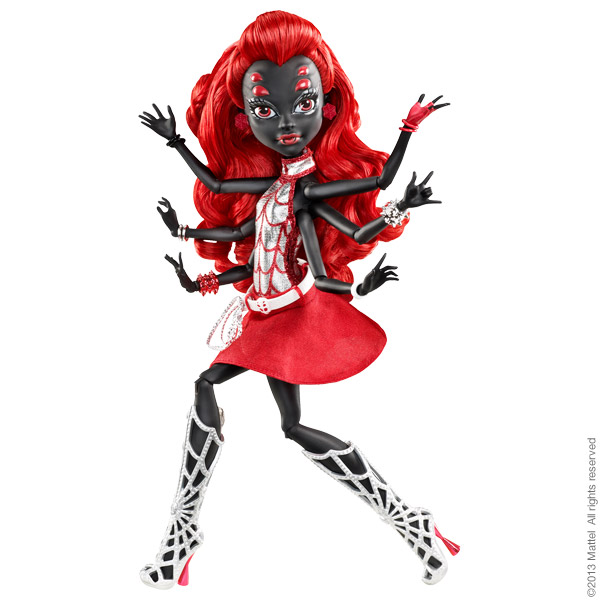Monster High Wydowna Webarella Y7307_001_600x600