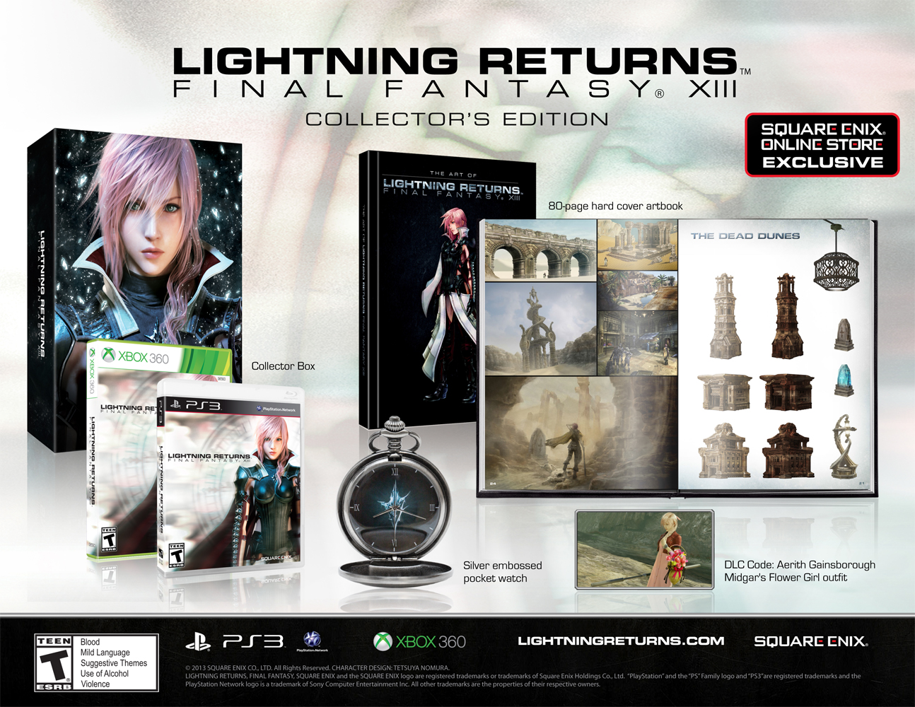 FF XIII : Lightning Returns Collector  Weiss-CE-beautyshot_FINAL
