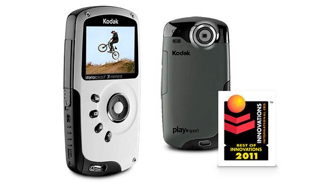 Карманная HD-видеокамера  KODAK PLAYSPORT - мечта двоечников и туристов 0900688a80c47a32_EKN036801_PLAYSPORT_black_front_645x370
