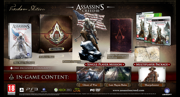 Assassin's Creed 3 AC3_Freedom_Hero_PEGI