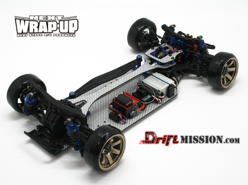 Wrap-UP Next - Yokomo Drift Package Conversion FR-D WrapUP-Next-FR-D-Conversion-Kit-DriftMission-2