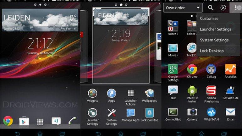 [SOFT][4.0.3+]Launcher Xperia Z et Widgets pour tous[Nouvelles fonctionnalités][Gratuit][29.10.2013] Xperia-Z-Launcher