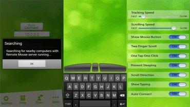 [SOFT] Remote Mouse : Transformer son appareil Android en clavier et souris sans fil [Gratuit][06.08.2013] Remote-mouse-screenshots