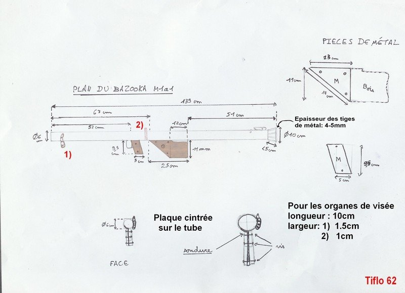 [Droop] Bazooka M1A1 - US WW2 Plan_M1A1